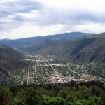Glenwood Springs viewed from above