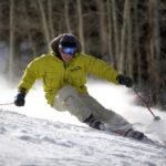 Skiing at Sunlight Mountain